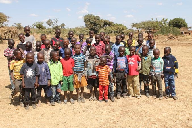 New Massai Children