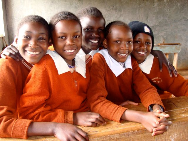 Girls in Classroom 2010